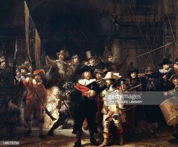 Night watch by Rembrandt Amsterdam Rijksmuseum