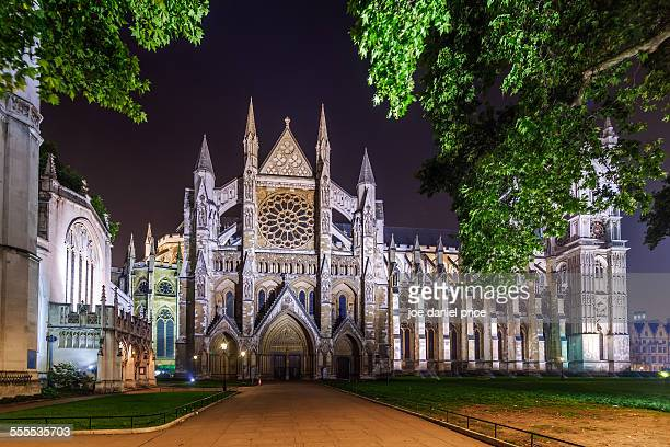 Night, Westminster Abbey