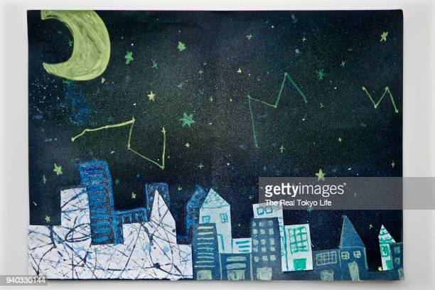 night_1450681.jpg - kids art stock pictures, royalty-free photos & images