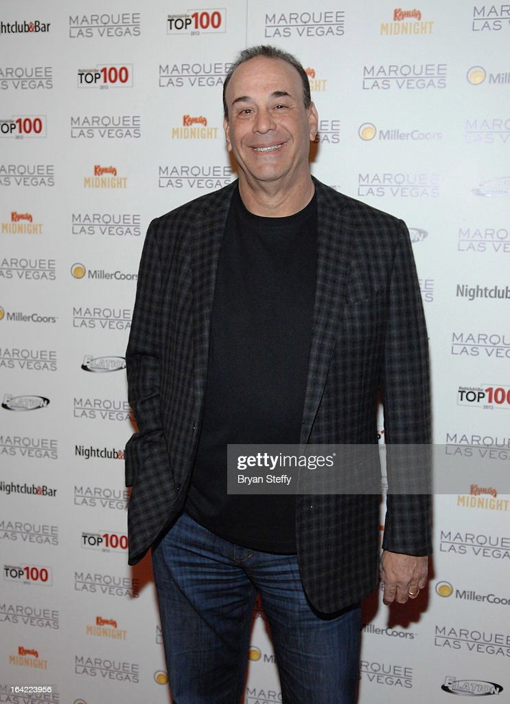 Nightclub & Bar Media Group President and host and Co-Executive Producer of the Spike television show 'Bar Rescue' Jon Taffer arrives at a Platinum party at the Marquee Nightclub at The Cosmopolitan of Las Vegas during the 28th annual Nightclub & Bar Convention and Trade Show on March 20, 2013 in Las Vegas, Nevada.