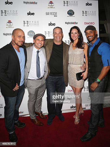 Nightclub Bar Media Group President and host and CoExecutive Producer of the Spike television show 'Bar Rescue' Jon Taffer television personalities...