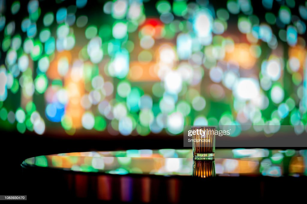 Wondrous Nightclub Bar Scene Of Abstract Nightlife With Candle And Home Interior And Landscaping Pimpapssignezvosmurscom