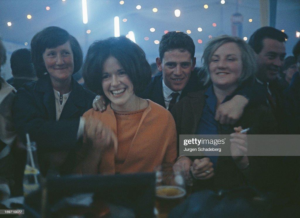 A nightclub in Ireland, circa 1980.