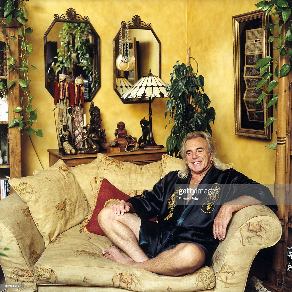 Nightclub owner Peter Stringfellow poses for a portrait shoot in London, UK.