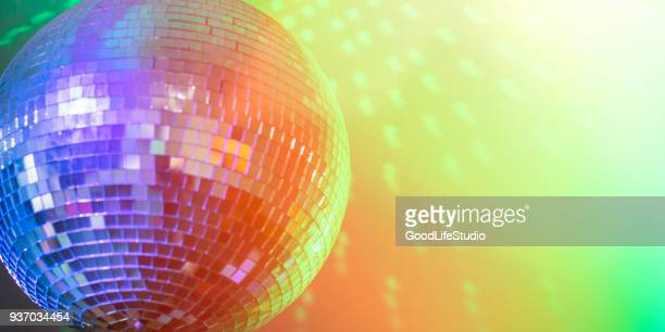 nightclub - disco ball stock photos and pictures