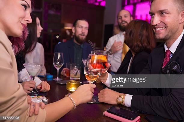 Nachtclub-toast