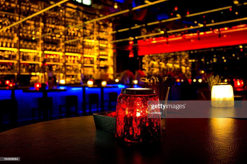 Bunte Night Club : Stock-Foto