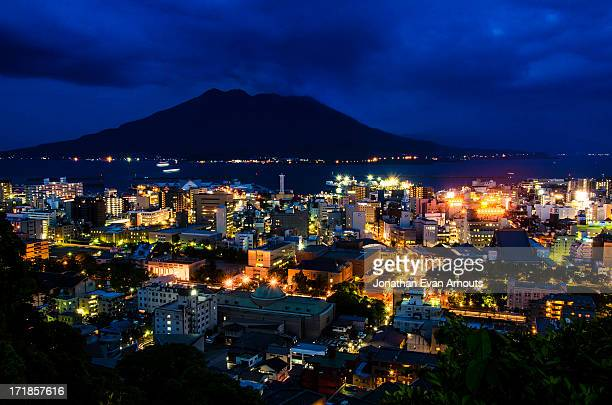 nightfall - 鹿児島県 ストックフォトと画像