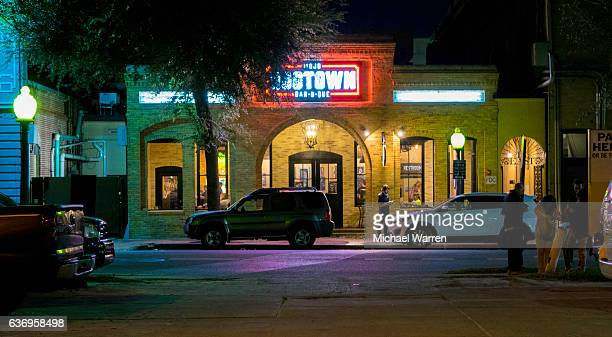 nightlife in gainesville, florida - gainesville florida stock photos and pictures