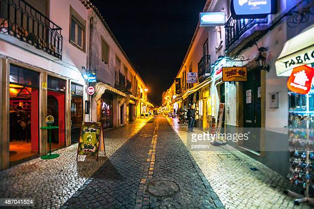 Nightlife in Lagos, Portugal.