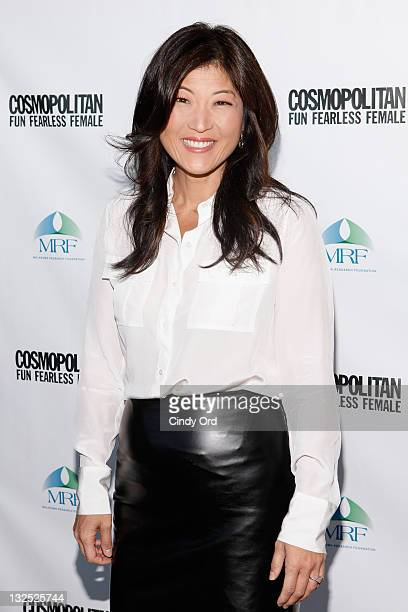Nightline journalist JuJu Chang attends the 2nd Annual Cosmopolitan Magazine Practice Safe Sun Awards at Hearst Tower on June 29 2011 in New York City