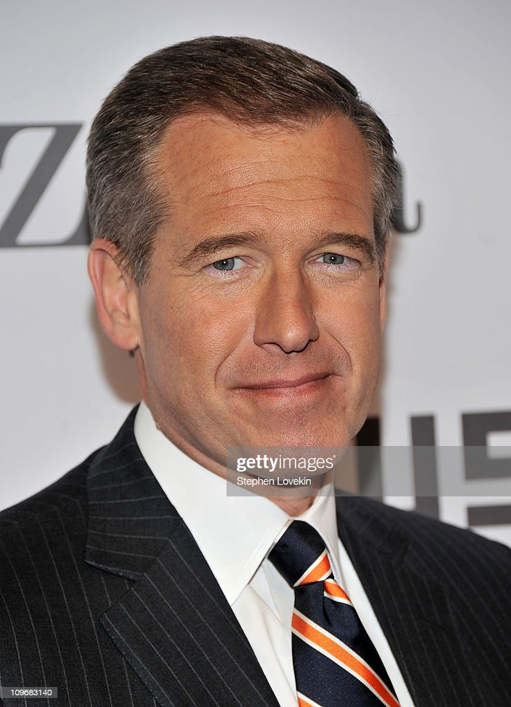 Nightly News anchor Brian Williams attends the Museum of the Moving Image salute to Alec Baldwin at Cipriani 42nd Street on February 28, 2011 in New York City.