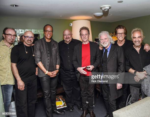 NBC Nightly News/Dateline anchor Lester Holt Host/Rolling Stones Keyboardist Chuck Leavell are joined by Bacon Brothers Band members Paul Gazzone...
