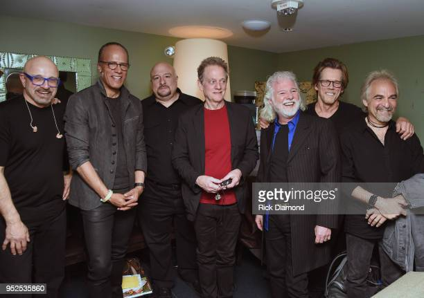 Nightly News/Dateline host Lester Holt Host/Rolling Stones Keyboardist Chuck Leavell are joined by Bacon Brothers Band members Frank Vilardi Joe...