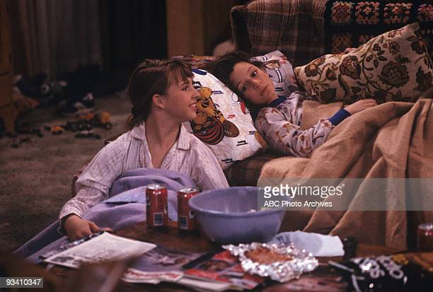 ROSEANNE 'Nightmare on Oak Street' 2/14/89 Alicia Goranson Sara Gilbert