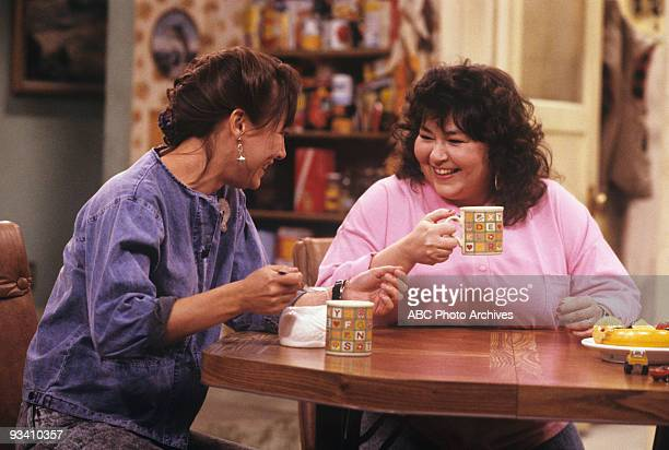 ROSEANNE 'Nightmare on Oak Street' 2/14/89 Laurie Metcalf Roseanne Barr