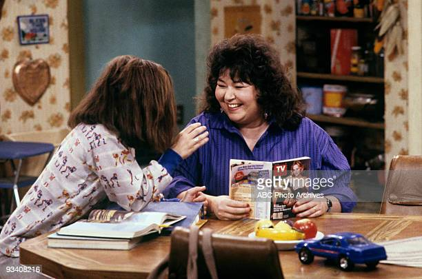 ROSEANNE 'Nightmare on Oak Street' 2/14/89 Sara Gilbert Roseanne Barr