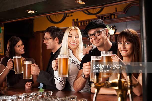 NIghtout in a pub