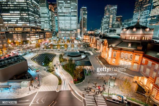 Nightscape of Marunouchi, Tokyo