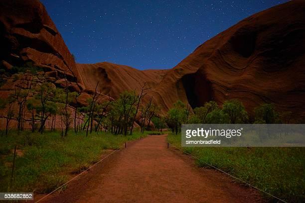 Night-Time At Uluru