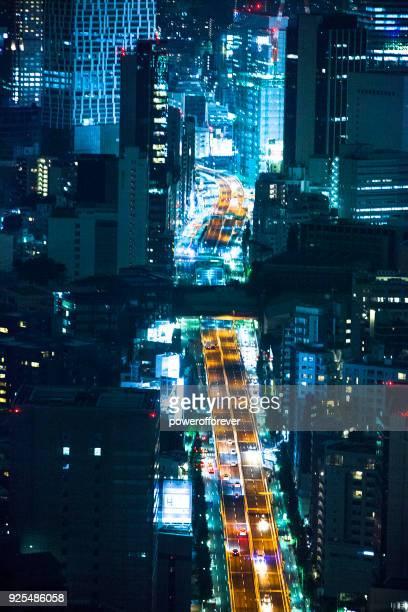 Paysage nocturne de Tokyo, Japon