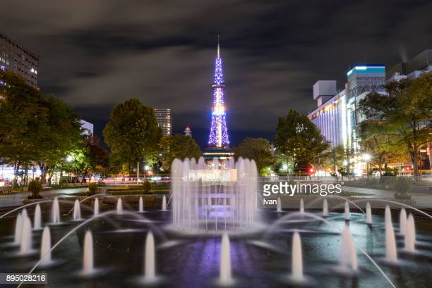 Nightview of Sapporo TV Tower