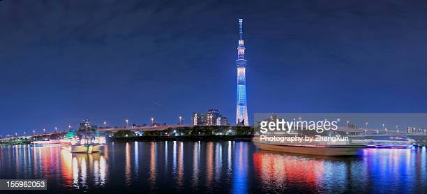 Nightview of Tokyo sky tree