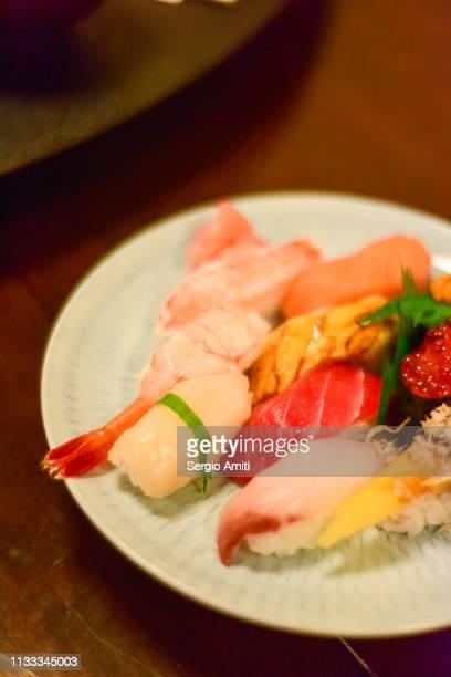 Nigirit and maki platter