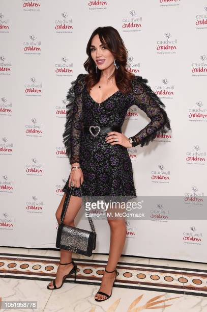 Nigora Bannatyne attends the Caudwell Children London Ladies Lunch held at The Dorchester on October 12 2018 in London England