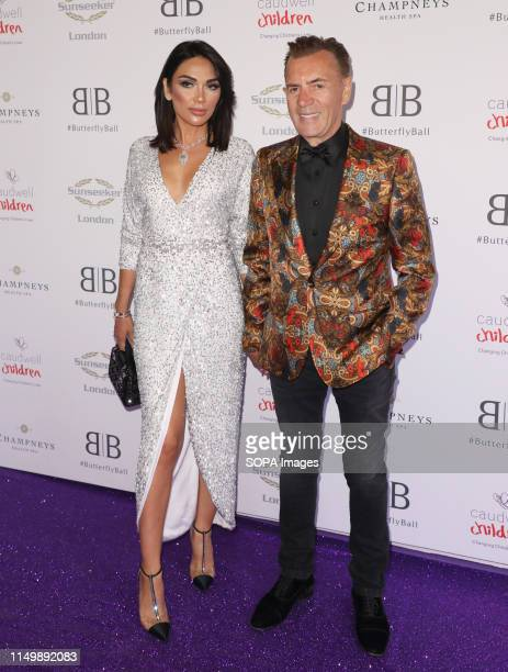 Nigora Whitehorn and Duncan Bannatyne attending the Butterfly Ball 2019 at Grosvenor House in London