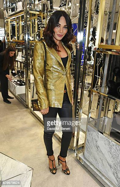 Nigora Whitehorn attends a cocktail party hosted by Philipp Plein to celebrate the opening of the Philipp Plein London boutique on December 15 2016...