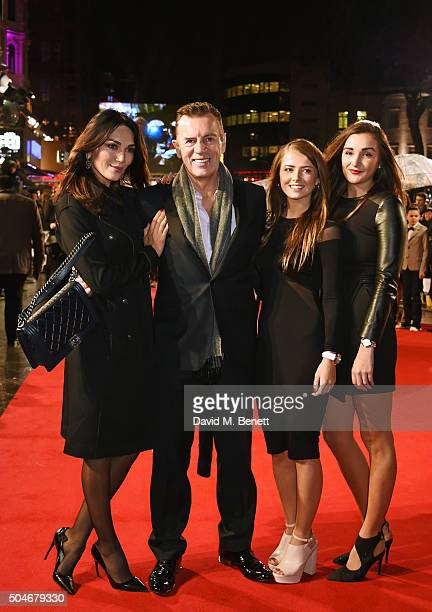 Nigora Whitehorn Duncan Bannatyne and guests attend the European Premiere of Creed at Empire Leicester Square on January 12 2016 in London England