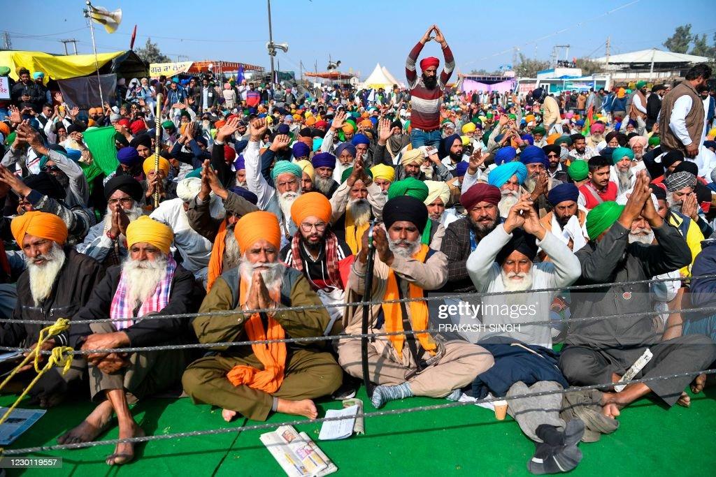 INDIA-POLITICS-AGRICULTURE-PROTEST : News Photo