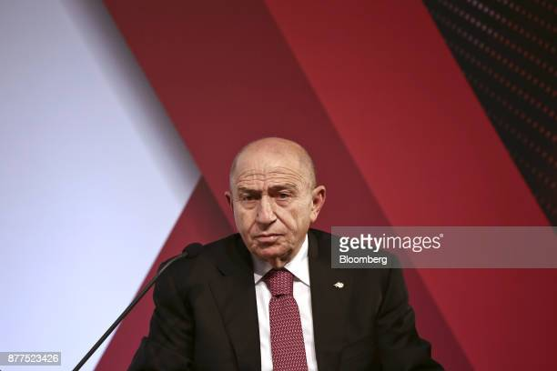Nihat Ozdemir chairman of Limak Holding AS looks on during the Bloomberg HT conference in Istanbul Turkey on Wednesday Nov 22 2017 The Turkish...
