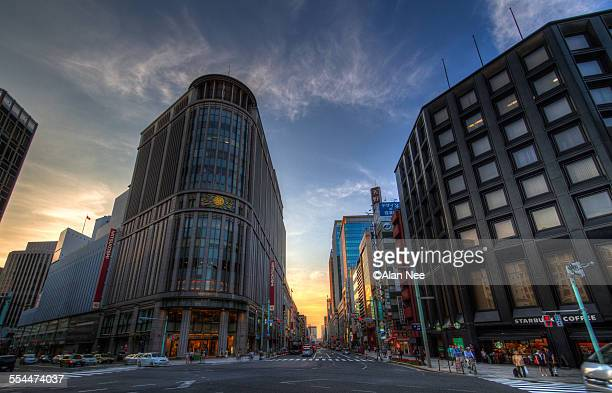 nihonbashi - nee nee stock pictures, royalty-free photos & images