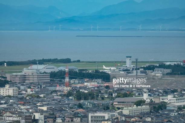 niigata airport in japan - 新潟県 ストックフォトと画像