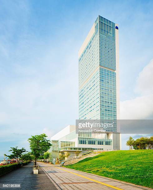 Niigata Convention Center in Japan featuring Hotel Nikko