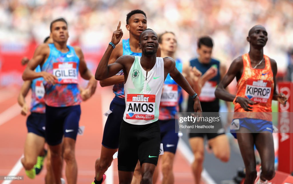 Muller Anniversary Games : News Photo