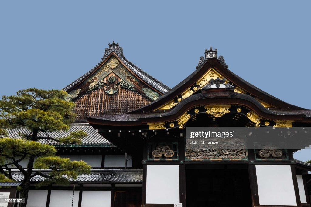 Nijo Castle or Nijo-jo was built as the residence of the... : News Photo
