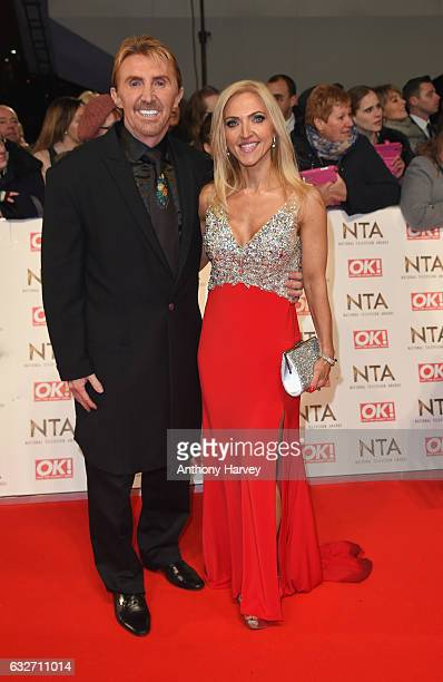 Nik and Eva Speakman attend the National Television Awards on January 25 2017 in London United Kingdom