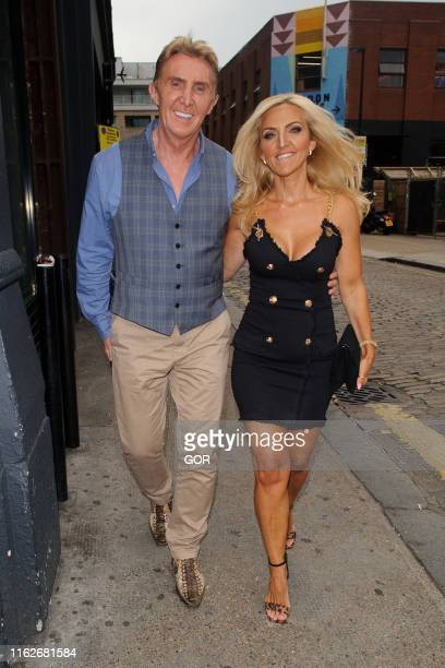 Nik and Eva Speakman seen leaving Shoreditch House on July 17 2019 in London England
