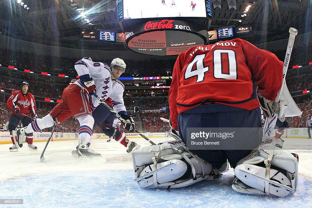 New York Rangers v Washington Capitals - Game Two : News Photo