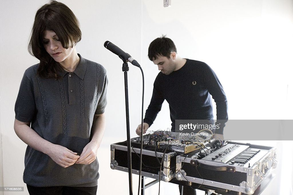 Nik Colk Void And Dominic Butler Of Electronic Rock Band Factory Floor At A Rehearsal