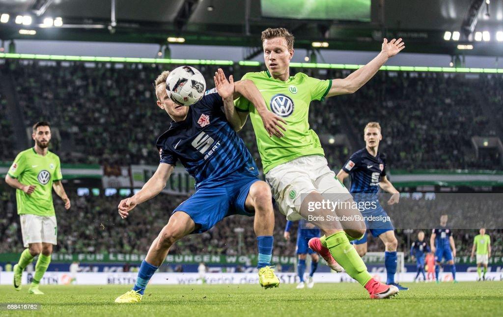 VfL Wolfsburg v Eintracht Braunschweig - Bundesliga Playoff Leg 1
