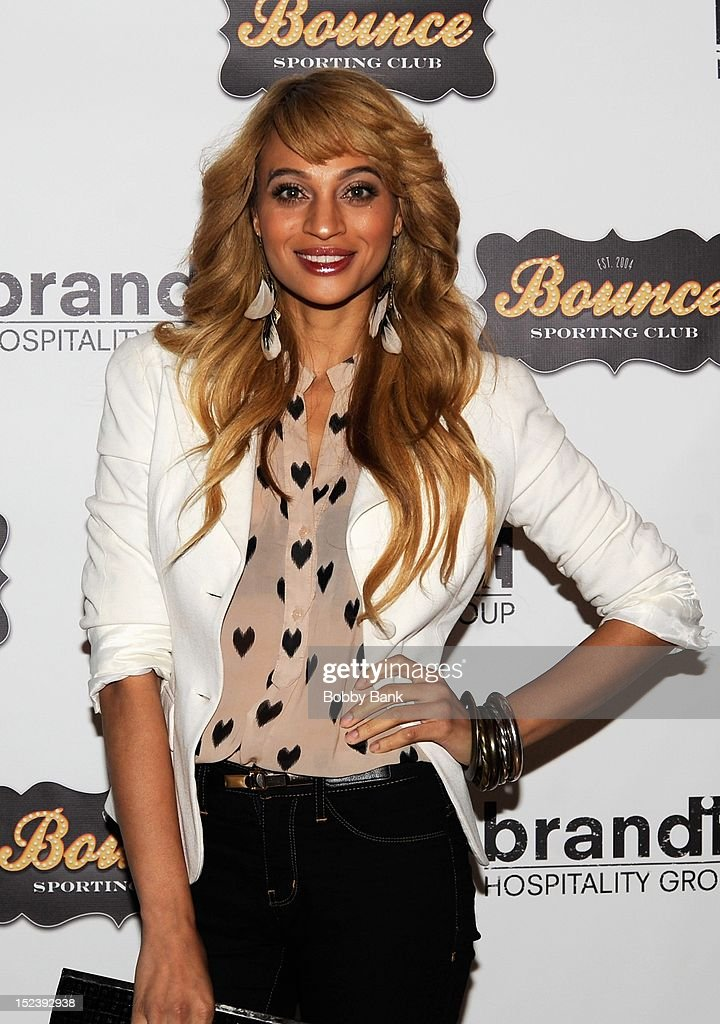 Nik Pace attends the 1 year anniversary party at Bounce Sporting Club on September 19, 2012 in New York City.