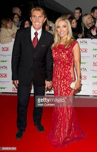 Nik Speakman and Eva Speakman attend the 21st National Television Awards at The O2 Arena on January 20 2016 in London England