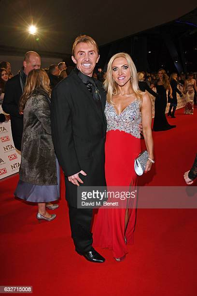 Nik Speakman and Eva Speakman attend the National Television Awards on January 25 2017 in London United Kingdom