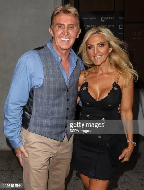 Nik Speakman and Eva Speakman attending the ITV Summer Party 2019 at Nobu Shoreditch in London