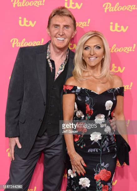 Nik Speakman and Eva Speakman attends the ITV Palooza 2019 at the Royal Festival Hall on November 12 2019 in London England