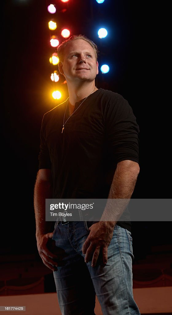 Nik Wallenda poses for a photograph at Circus Sarasota on February 15, 2013 in Sarasota, Florida. Wallenda is planning to walk on a high wire over the Grand Canyon this summer.
